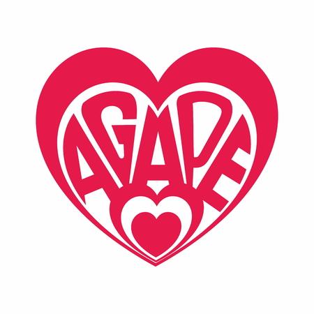 Heart of Agape illustration