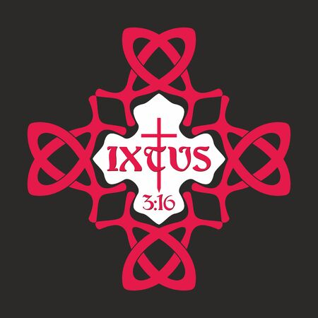 gods: IXTUS - Jesus, Gods Son illustration