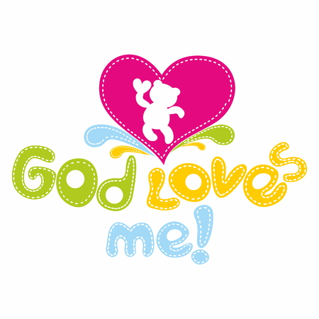 loves: God loves me Illustration