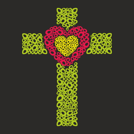 hope: Cross with Heart