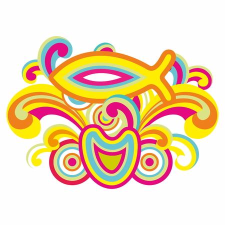 vivid colors: Fish with vivid colors