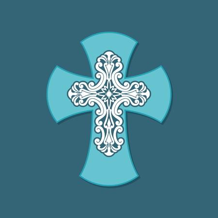 bible and cross: Decorative, christian cross, bible cross