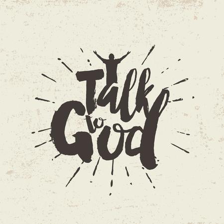 Rozmawiać z Bogiem. Literowanie