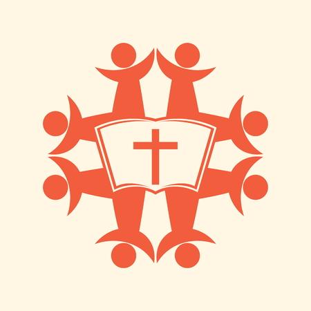 evangelism: Home church, group fo people, choir