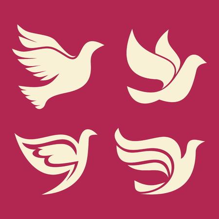 espiritu santo: Conjunto de palomas, Espíritu Santo