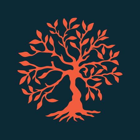 tree of life: Tree of eternal life Illustration