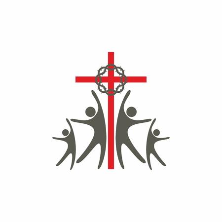 evangelism: Group worship icon