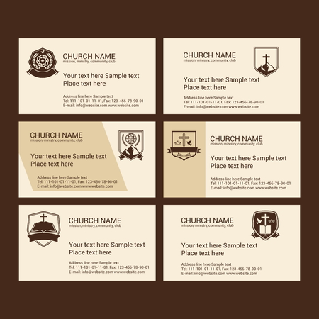evangelism: Set Christian business cards. For the church, the ministry, the club and the community