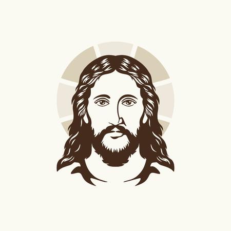 Face of Jesus Christ 일러스트