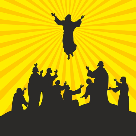 jesus in heaven: The Ascension of the Lord Jesus Christ