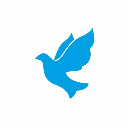 Christian symbols. Dove. Holy Spirit.