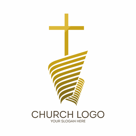 Church. Christian symbols. Jesus cross. 版權商用圖片 - 62147432
