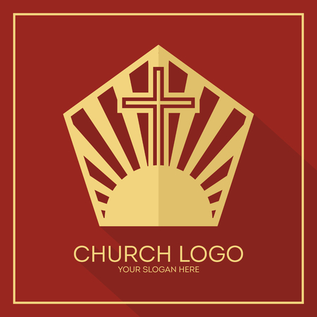 Christian symbols. The greatness and the glory of Jesus Christ.