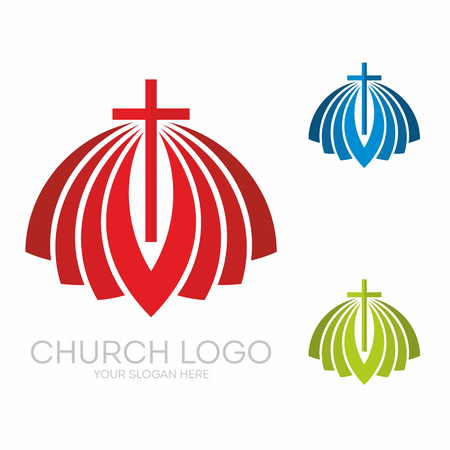 Christian symbols. The greatness and the glory of Jesus Christ