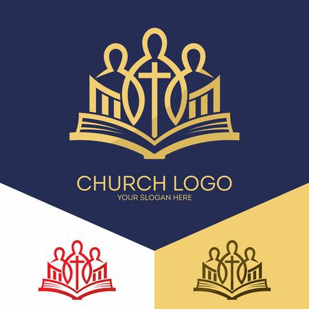 Christian symbols. Bible, unity in Christ Jesus.