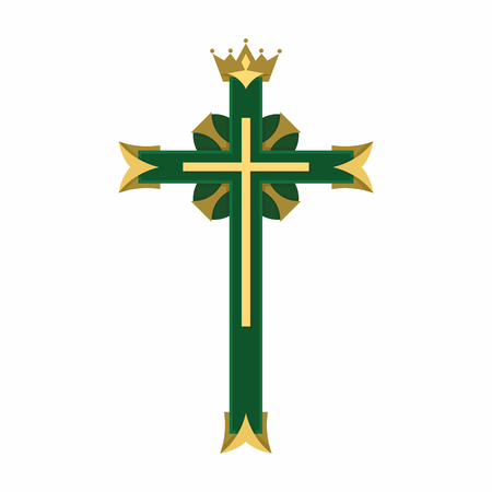 Christian Symbol Cross Of The Lord And Savior Jesus Christ Royalty