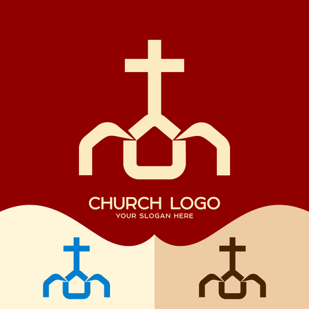 Church logo. Cristian symbols. The Church of Jesus Christ