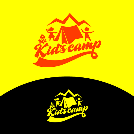 Logo of the kid's camp.