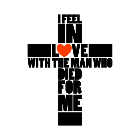 Bible lettering. Christian art. I felt in love with the man.