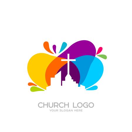 Church logo. Christian symbols. Church of God