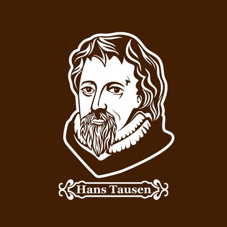 Hans Tausen. Protestantisme. Leiders van de Europese Reformatie.