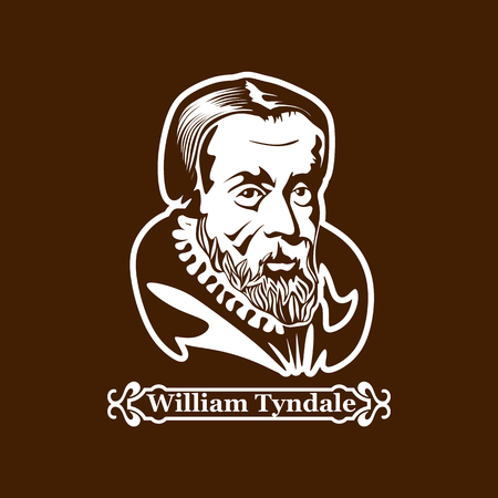 William Tyndale. Protestantism. Leaders of the European Reformation. Illustration