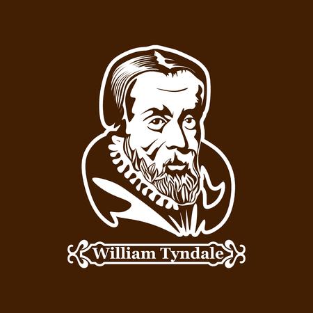 William Tyndale. Protestantism. Leaders of the European Reformation. Illusztráció