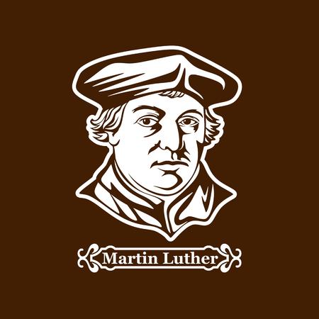 Martin Luther. Protestantismus. Führer der europäischen Reformation. Standard-Bild - 87349279