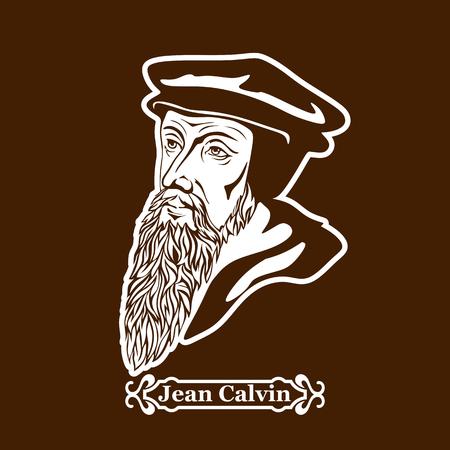 Jean Calvin. Protestantisme. Leiders van de Europese Reformatie.