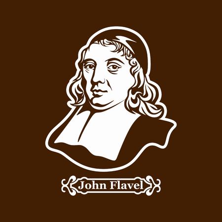 John Flavel. Protestantisme. Leiders van de Europese Reformatie. Stockfoto - 89268790