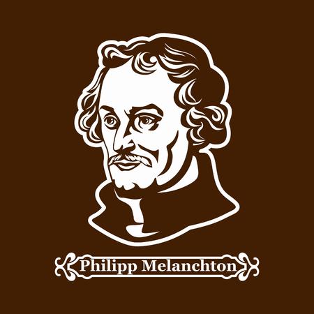 Philipp Melanchton. Protestantisme. Leiders van de Europese Reformatie. Stockfoto - 89111844