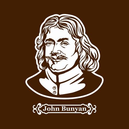 John Bunyan. Protestantism. Christian writer Illusztráció