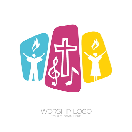 Worship of the Lord Jesus Christ and the performance of the song of glorification of God.