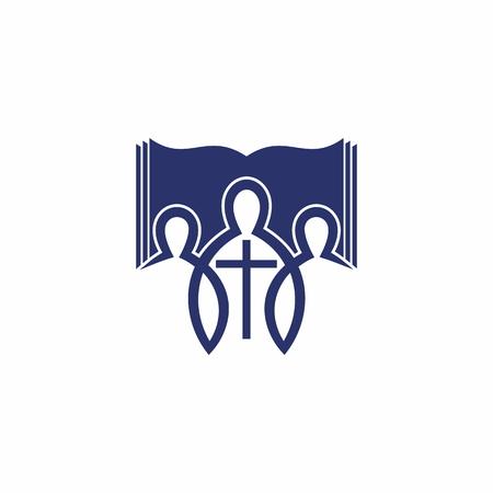 Logotipo de la iglesia La iglesia de jesus Logos