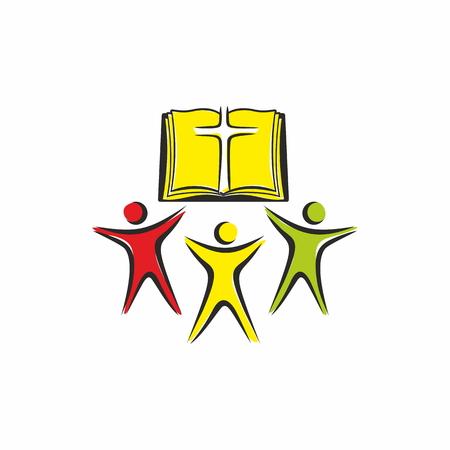 Church logo. Worshipers of Jesus Christ