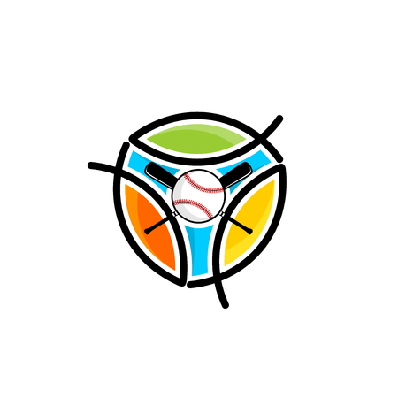 Athletic Christian logo. Fish is a symbol of Jesus Christ and believers in the Lord. Symbol of competition, ministry, club, camp, etc.
