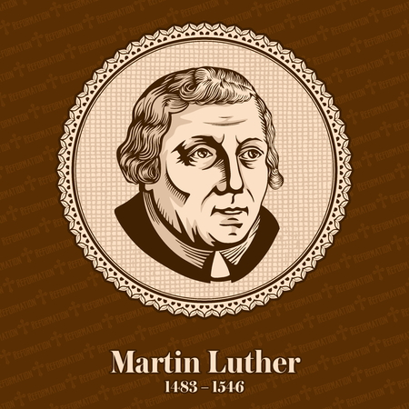 Martin Luther (1483-1546) was a German professor of theology, composer, priest, monk, and a seminal figure in the Protestant Reformation. Christian figure.