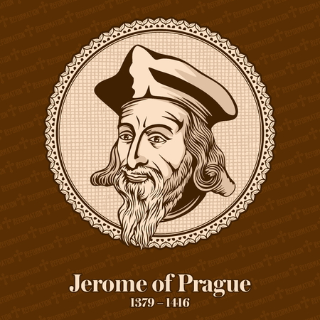 Jerome of Prague (1379-1416) was a Czech scholastic philosopher, theologian, reformer, and professor. Jerome was one of the chief followers of Jan Hus. Christian figure.