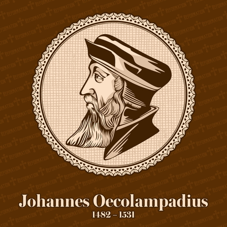 Johannes Oecolampadius (1482?1531) was a German Protestant reformer in the Reformed tradition. He was one of the leaders of the protest movement.