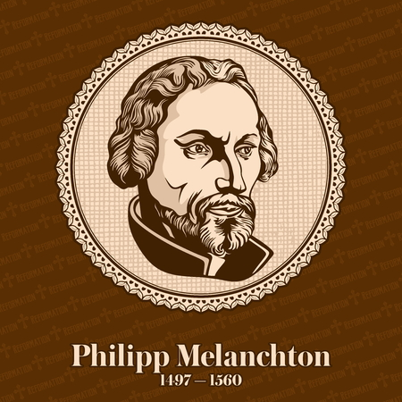 Philip Melanchthon (1497 - 1560) was a German Lutheran reformer, collaborator with Martin Luther, the first systematic theologian of the Protestant Reformation, the intellectual leader of the Lutheran Reformation. Christian figure.