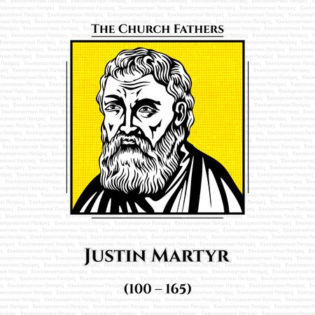 The church fathers. Justin Martyr (100 - 165) was an early Christian apologist, and is considered as the foremost interpreter of the theory of the Logos in the 2nd century. He was martyred, alongside some of his students.
