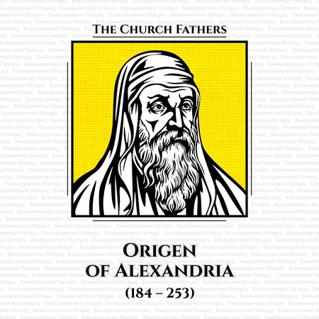Origen of Alexandria (184 - 253) was an early Christian scholar, ascetic, and theologian who was born and spent the first half of his career in Alexandria. He was a prolific writer who wrote roughly 2,000 treatises in multiple branches of theology.