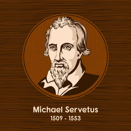 Michael Servetus (1509 - 1553), was a Spanish theologian, physician, cartographer, and Renaissance humanist.