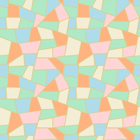 Retro pattern using lighter colors  photo