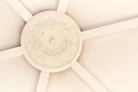 cast off: Circular cast iron ceiling fixture