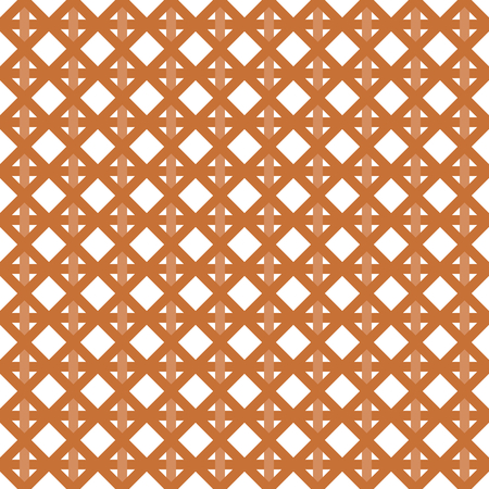 intertwine: Interleaved   interwoven bands in a rhombus pattern on white background
