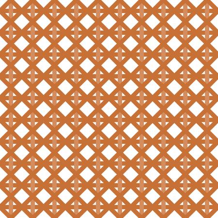 interleaved: Interleaved   interwoven bands in a rhombus pattern on white background