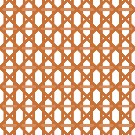 interleaved: Interleaved   interwoven bands in a hexagon pattern with cross stripes on white background