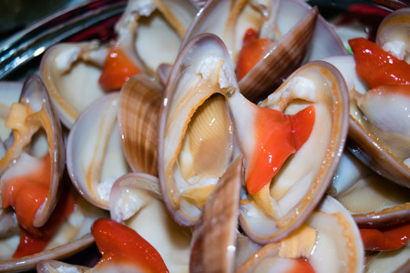 cockles: Tasty dish of fresh cockles