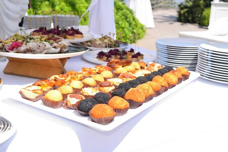 dish with arancini and other typical Sicilian snacks Reklamní fotografie